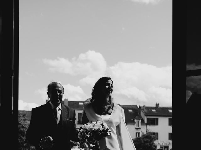 Le mariage de Dorian et Dorra à Montesson, Yvelines 5