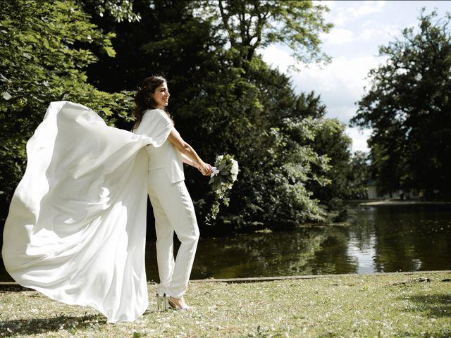 Le mariage de Dorian et Dorra à Montesson, Yvelines 15