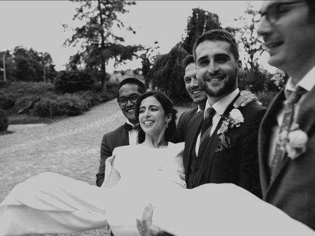 Le mariage de Dorian et Dorra à Montesson, Yvelines 23