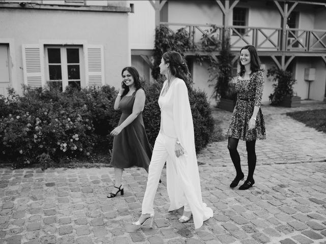 Le mariage de Dorian et Dorra à Montesson, Yvelines 24