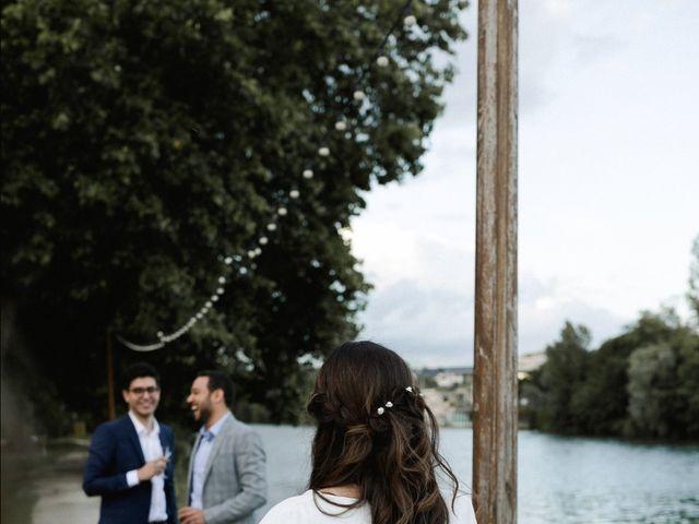 Le mariage de Dorian et Dorra à Montesson, Yvelines 37