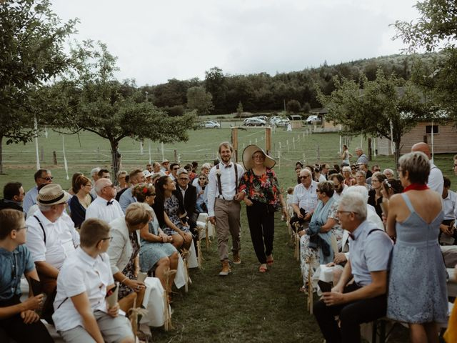 Le mariage de Samuel et Orane à Campandré-Valcongrain, Calvados 12