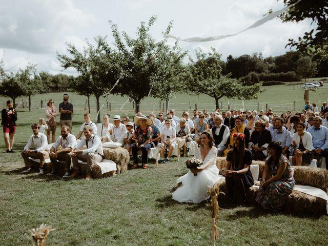 Le mariage de Samuel et Orane à Campandré-Valcongrain, Calvados 2