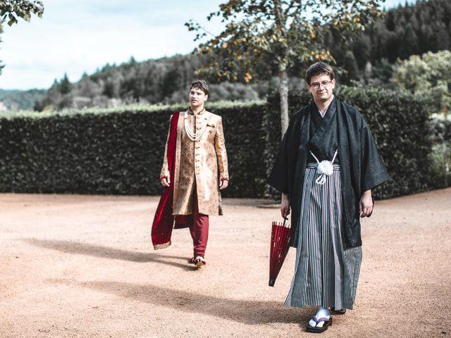 Le mariage de François et Alex
