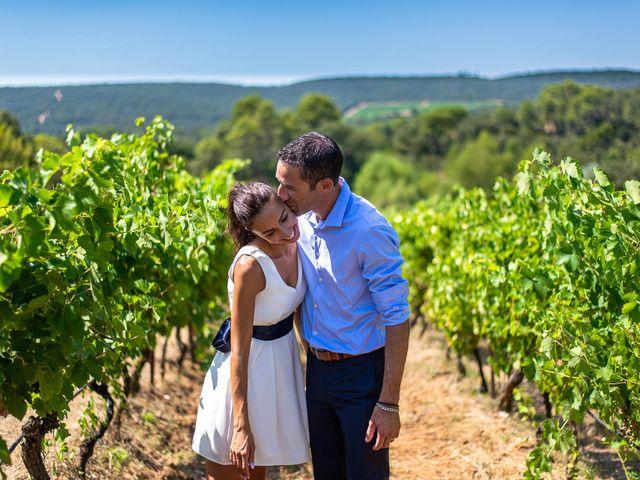 Le mariage de François et Joanne à Pourrières, Var 1