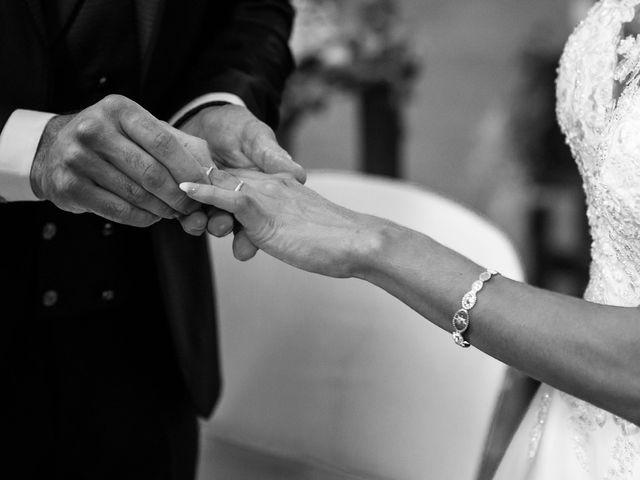 Le mariage de François et Joanne à Pourrières, Var 16