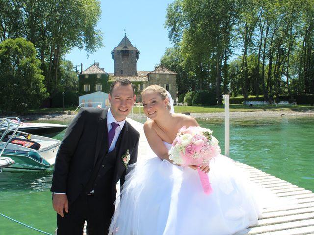 Le mariage de Jérôme et Elodie à Massongy, Haute-Savoie 5