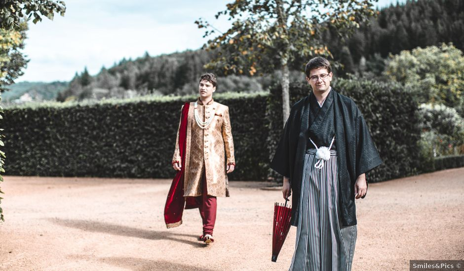Le mariage de Alex et François à Miremont , Puy-de-Dôme