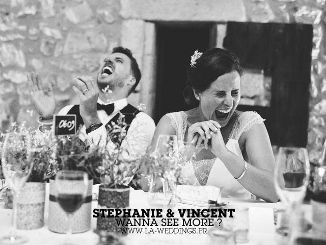 Le mariage de Vincent et Stéphanie à Pujaut, Gard 2