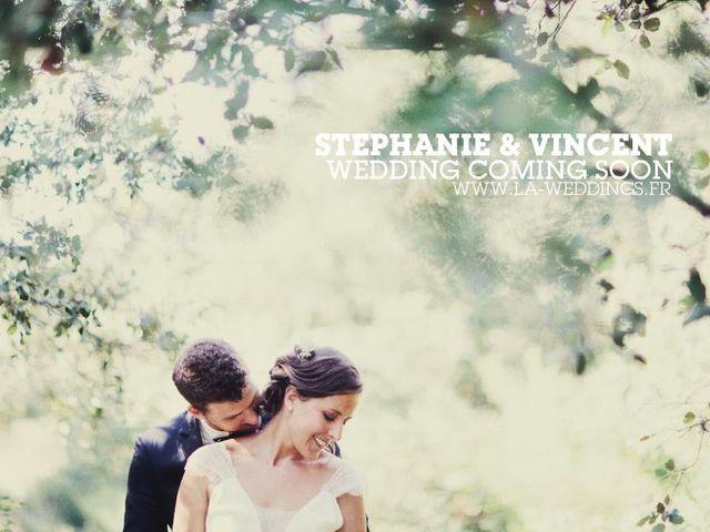 Le mariage de Vincent et Stéphanie à Pujaut, Gard 4
