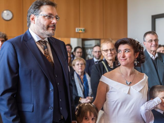 Le mariage de Samuel et Marianne à Montigny-le-Bretonneux, Yvelines 11
