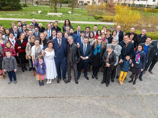 Le mariage de Samuel et Marianne à Montigny-le-Bretonneux, Yvelines 20