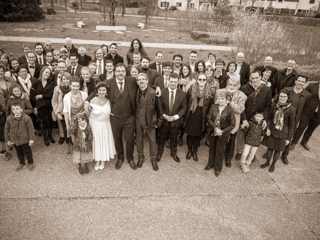 Le mariage de Samuel et Marianne à Montigny-le-Bretonneux, Yvelines 22