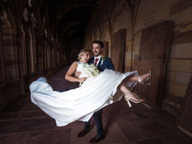 Le mariage de Damien et Camille à Wissembourg, Bas Rhin 10