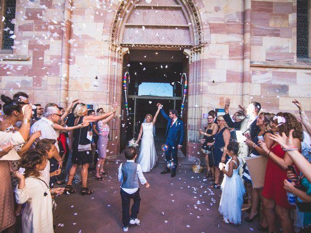 Le mariage de Damien et Camille à Wissembourg, Bas Rhin 16