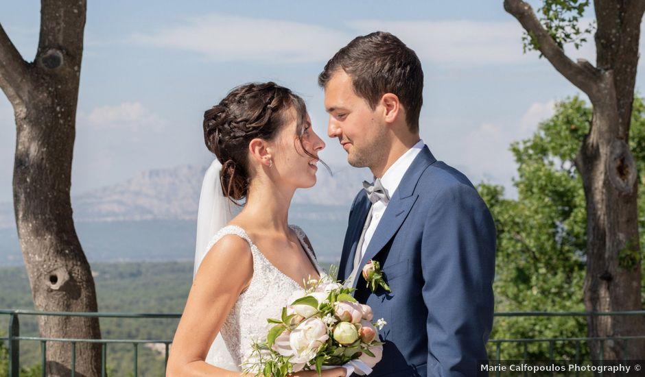 Le mariage de Guillaume et Emma à Mimet, Bouches-du-Rhône