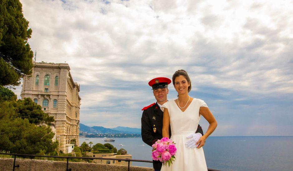 Le mariage de Sebastien  et Aglaée  à Menton, Alpes-Maritimes