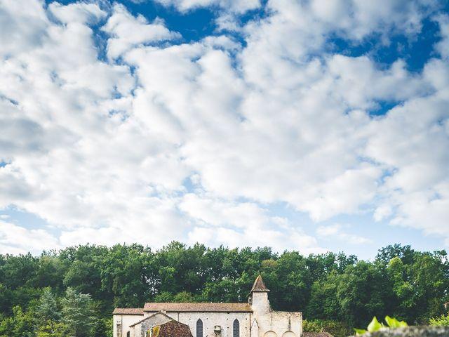 Le mariage de Henri et Céline à Mussidan, Dordogne 3