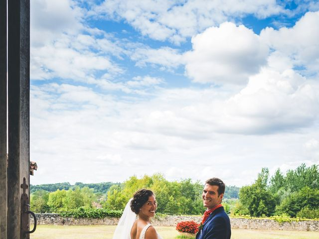Le mariage de Henri et Céline à Mussidan, Dordogne 86