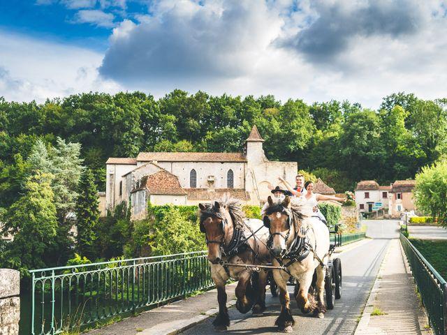 Le mariage de Henri et Céline à Mussidan, Dordogne 102