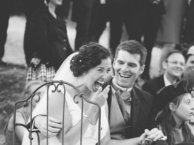 Le mariage de Henri et Céline à Mussidan, Dordogne 154