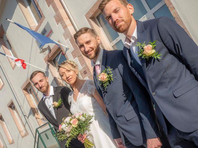 Le mariage de David et Séverine  à Mandray, Vosges 1