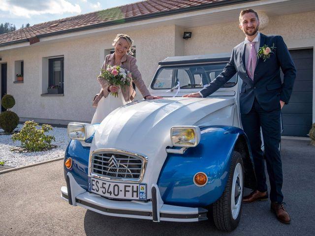 Le mariage de David et Séverine  à Mandray, Vosges 2