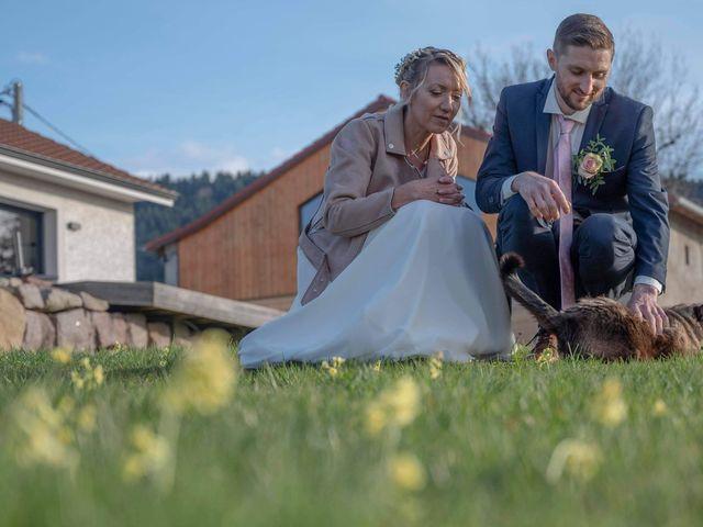 Le mariage de David et Séverine  à Mandray, Vosges 11
