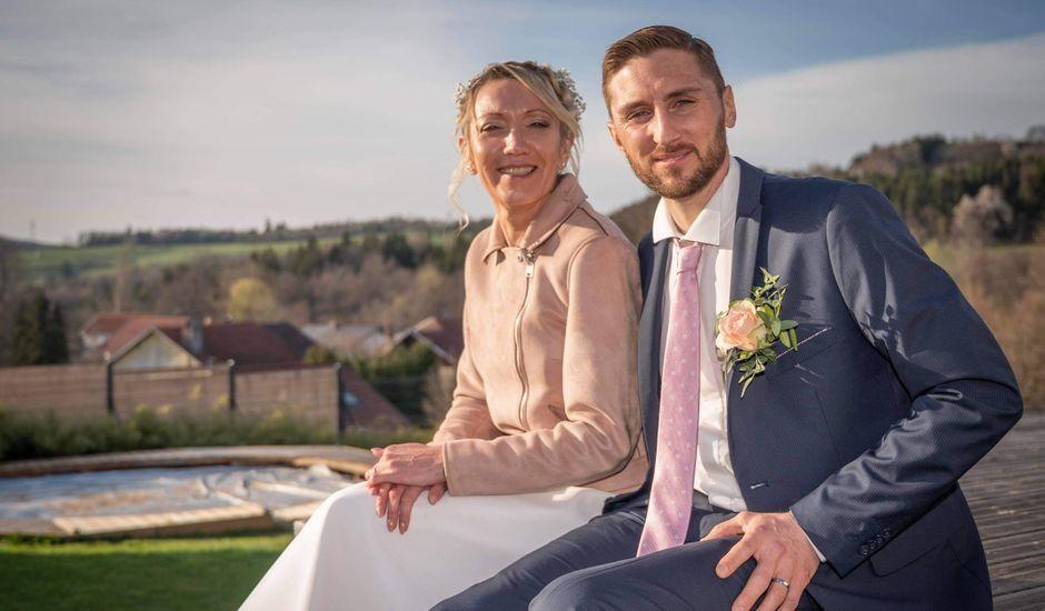 Le mariage de David et Séverine  à Mandray, Vosges