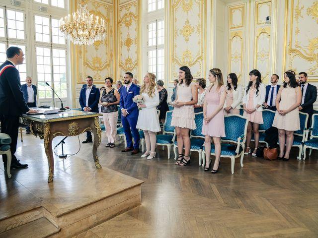 Le mariage de David et Virginie à Versailles, Yvelines 5