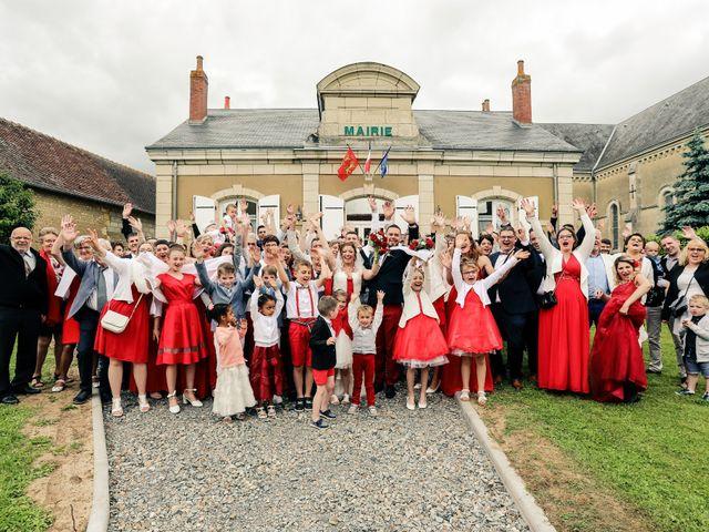Le mariage de Cédric et Adeline à Saint-Julien-sur-Sarthe, Orne 94