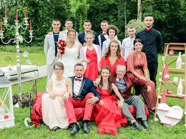 Le mariage de Cédric et Adeline à Saint-Julien-sur-Sarthe, Orne 218