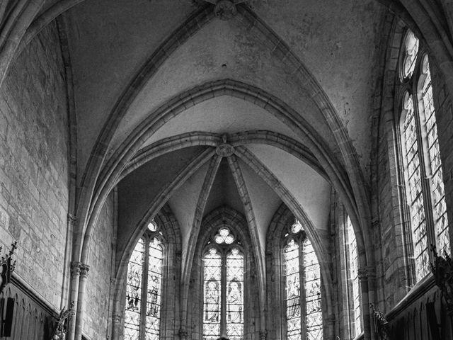 Le mariage de William et Daniela à Sauviat, Puy-de-Dôme 1