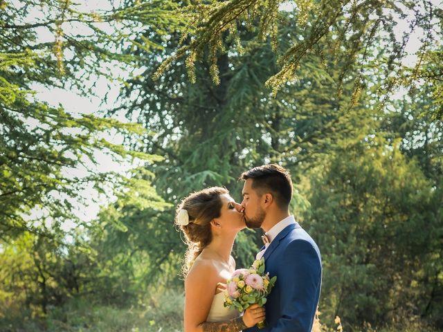 Le mariage de Matthias et Lysa à Saint-Just, Ardèche 1