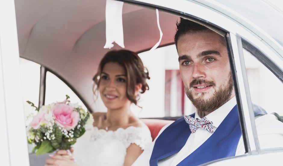 Le mariage de William et Daniela à Sauviat, Puy-de-Dôme