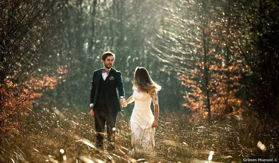 Le mariage de Thibaut et Marine à Pfaffenhoffen, Bas Rhin