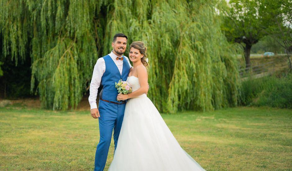 Le mariage de Matthias et Lysa à Saint-Just, Ardèche
