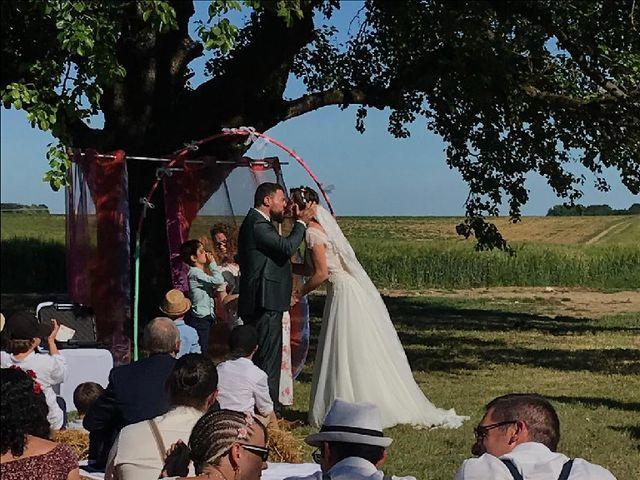 Le mariage de Sylvain et Harmony à Vallery, Yonne 4