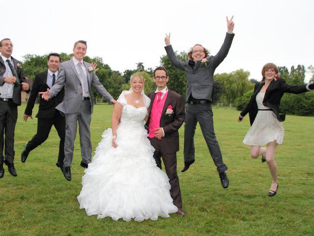 Le mariage de Julien et Sarah à La Haye-Saint-Sylvestre, Eure 1