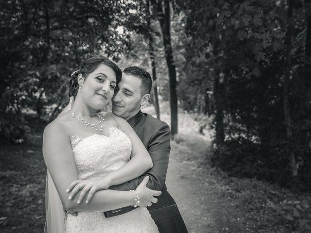 Le mariage de Antonino et Mélanie à Saint-Martin-la-Plaine, Loire 15