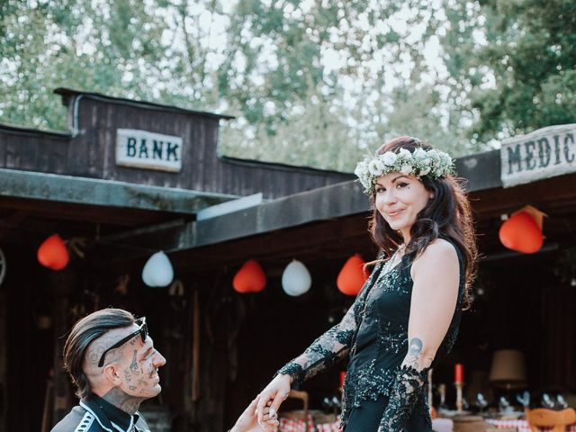 Le mariage de Jock et Julie à Biesheim, Haut Rhin 13