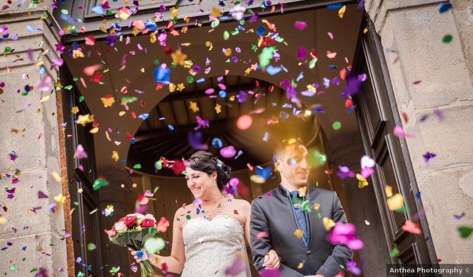 Le mariage de Antonino et Mélanie à Saint-Martin-la-Plaine, Loire