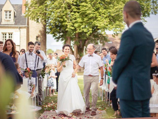 Le mariage de Kamel et Mathile à Amondans, Doubs 11
