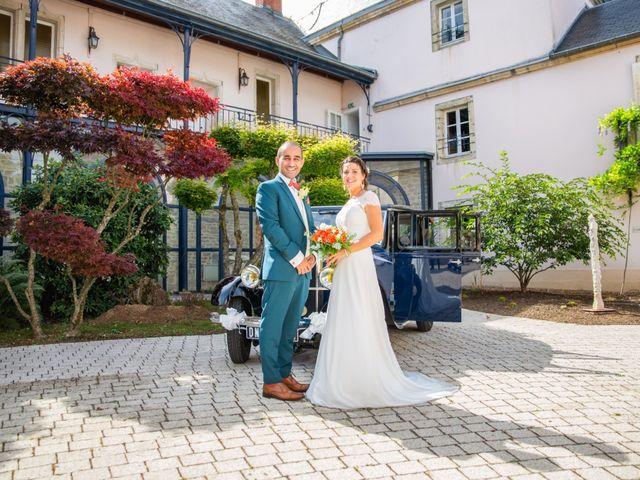 Le mariage de Kamel et Mathile à Amondans, Doubs 20