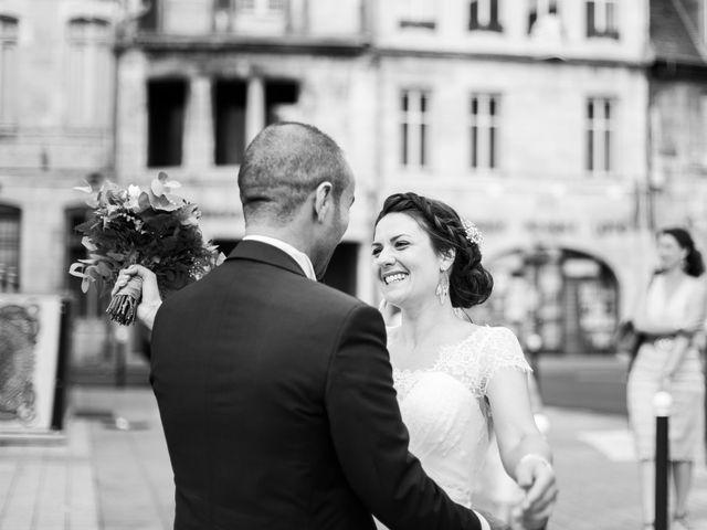 Le mariage de Kamel et Mathile à Amondans, Doubs 5