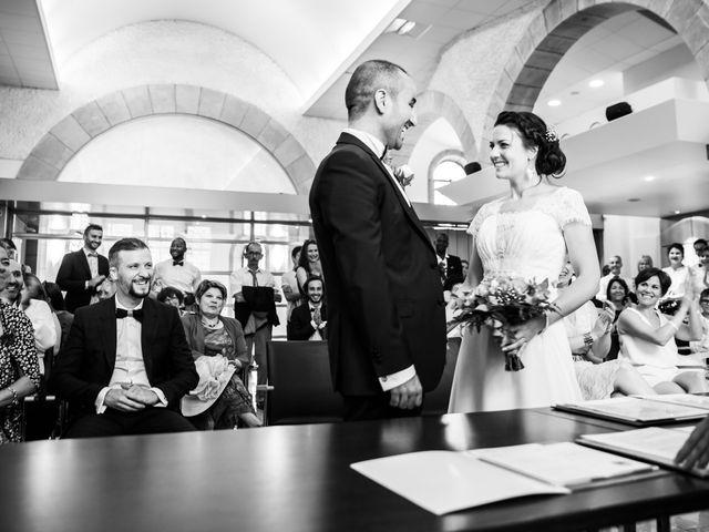 Le mariage de Kamel et Mathile à Amondans, Doubs 7