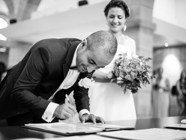 Le mariage de Kamel et Mathile à Amondans, Doubs 9