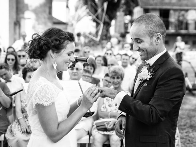 Le mariage de Kamel et Mathile à Amondans, Doubs 18