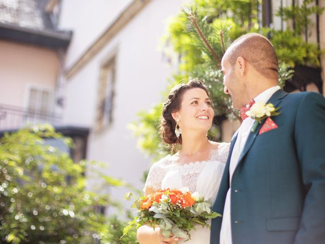 Le mariage de Kamel et Mathile à Amondans, Doubs 35