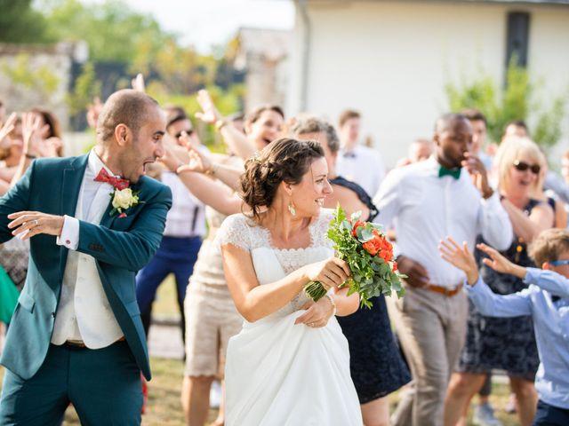 Le mariage de Kamel et Mathile à Amondans, Doubs 44